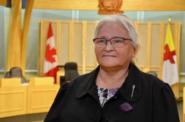 House leader Elisapee Sheutiapik says there is a lot of work to do this sitting because it's the last year for the current government before an election.  (Beth Brown/CBC                                                       - image credit)