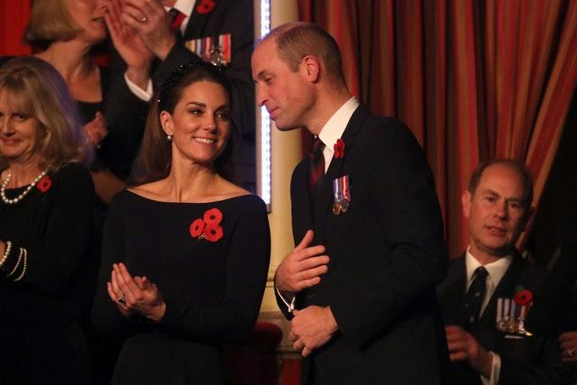 Royal family lead Remembrance Sunday tributes at Cenotaph