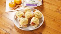 """<p>Turkey, bacon, and ranch seasoning are a match made in heaven. Good luck eating just one of these cheesy sliders!</p><p>Get the recipe from <a href=""""https://www.delish.com/cooking/recipe-ideas/a29515552/turkey-bacon-ranch-sliders-recipe/"""" rel=""""nofollow noopener"""" target=""""_blank"""" data-ylk=""""slk:Delish"""" class=""""link rapid-noclick-resp"""">Delish</a>.</p>"""