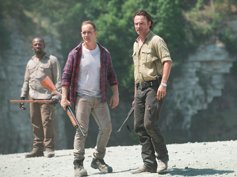 The Walking Dead halts filming after stuntman seriously injured on set