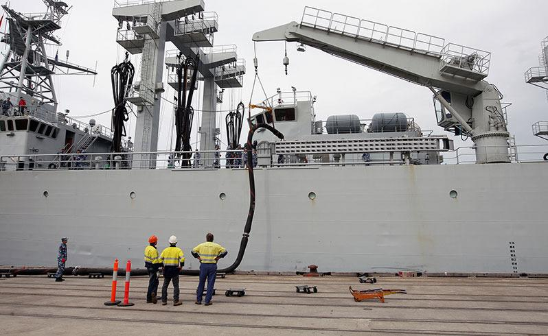 MH370 search ship docks in Albany