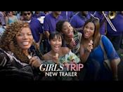 "<p>What happens when a group of girlfriends decide to go on a reconnecting trip? A wild ride to the Essence Music Festival, of course. It's a tale of friendship, laughter, and some steamy moments you wouldn't see coming. And the cast? With Queen Latifah and Tiffany Haddish, you're bound to be laughing from start to finish. </p><p><a class=""link rapid-noclick-resp"" href=""https://www.youtube.com/watch?v=2BWVeHOydCY"" rel=""nofollow noopener"" target=""_blank"" data-ylk=""slk:WATCH NOW"">WATCH NOW</a></p><p><a href=""https://www.youtube.com/watch?v=7jE61BzKmgQ"" rel=""nofollow noopener"" target=""_blank"" data-ylk=""slk:See the original post on Youtube"" class=""link rapid-noclick-resp"">See the original post on Youtube</a></p>"