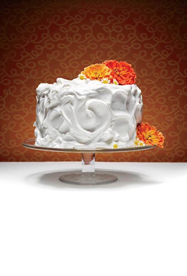 """<p>The <a rel=""""nofollow"""" href=""""http://www.myrecipes.com/recipe/the-lane-cake"""">Lane Cake</a> is one of many cakes with deep Southern roots. More than 100 years ago, Emma Rylander Lane of Clayton, Alabama won the annual baking competition at the Columbus, Georgia county fair with her Prize Cake. Her recipe included a filling of rich custard heavily spiked with bourbon; today it's often filled with coconut, pecans, and raisins. From its inception, the Lane Cake became an honored Southern baking tradition; however, the rest of the country was introduced to Lane Cake when it was mentioned in 1960's To Kill a Mockingbird.</p>"""