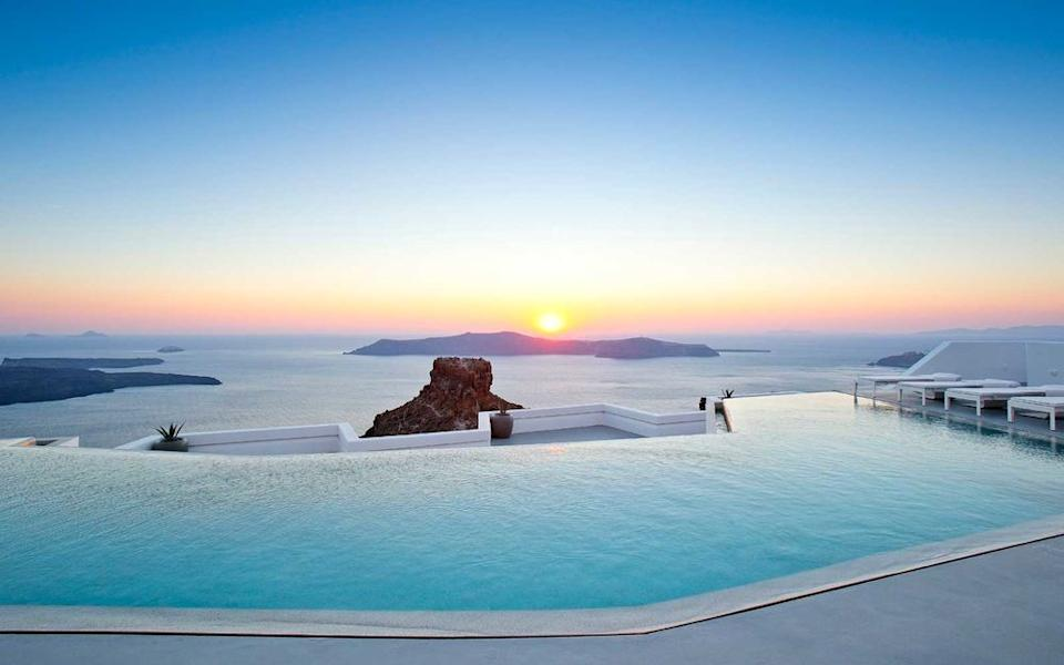 Courtesy of Grace Hotel Santorini, Auberge Resorts Collection