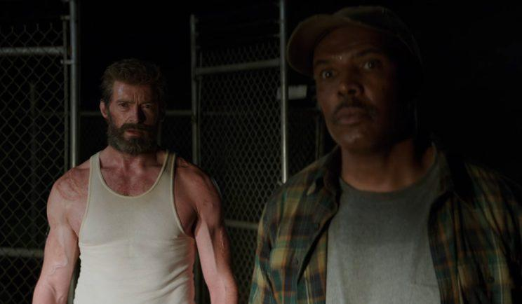 Hugh Jackman and Eriq La Salle in Logan - Credit: 20th Century Fox