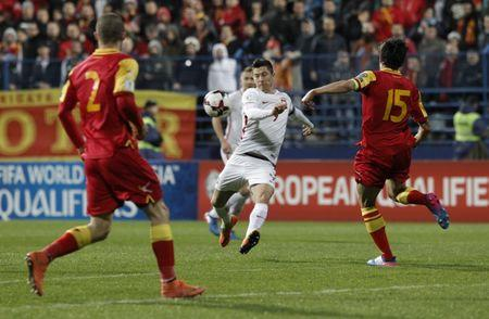 Football Soccer - Montenegro v Poland - 2018 World Cup Qualifiers European Zone - Group Stage - Group E