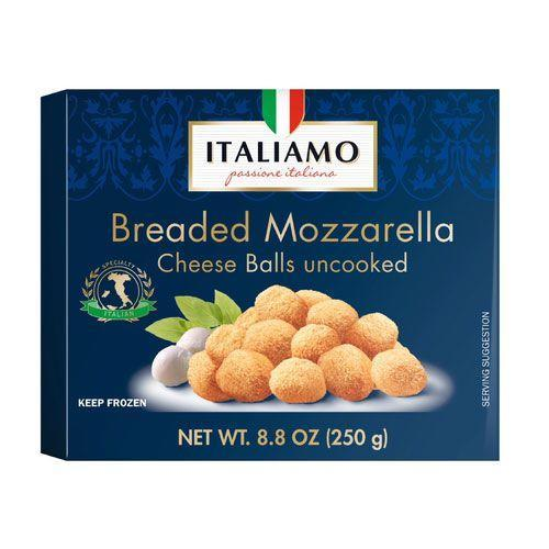 <p>Enjoy the gooey goodness of fried mozzarella delivered in bite-sized snack-able form. This is what dreams are made of, folks!</p>