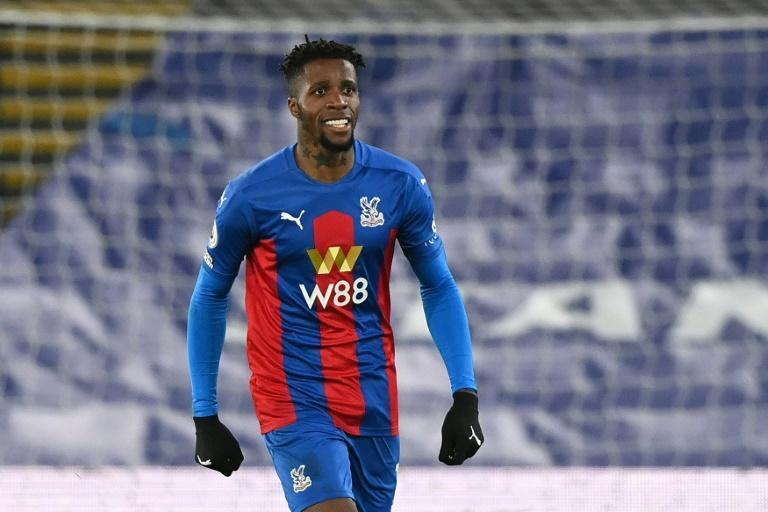 Wilfried Zaha's stunning strike earned Crystal Palace a 1-1 draw against Leicester