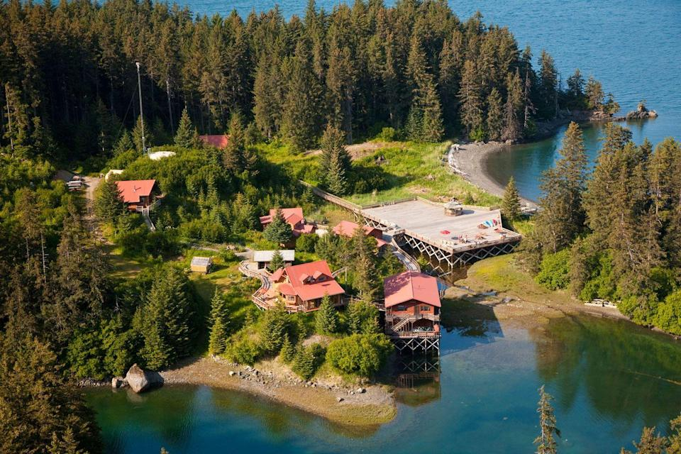 """<p>If you think Alaska is all about hunting, fishing, and male bonding, think again. This fisherman's-village-meets-artists'-community was made for a girls' trip (fun fact: The singer Jewel was raised here!). First, you'll want to make an extended pit stop at <a href=""""http://www.prattmuseum.org/"""" rel=""""nofollow noopener"""" target=""""_blank"""" data-ylk=""""slk:Pratt Museum"""" class=""""link rapid-noclick-resp""""><u>Pratt Museum</u></a>, celebrating the best of Alaska's Kachemak Bay's area, where you can enjoy bird watching, kayaking, hiking, and more. Then rest your weary heads at <a href=""""http://withinthewild.com/lodges/tutka-bay/"""" rel=""""nofollow noopener"""" target=""""_blank"""" data-ylk=""""slk:Tutka Bay Lodge"""" class=""""link rapid-noclick-resp""""><u>Tutka Bay Lodge</u></a>, a scenic boat ride away from Homer, where you can also enjoy oceanfront yoga classes, cooking classes, and<em> aaall </em>the nature you can imagine.</p><p><em><strong><em>For more information visit </em><a href=""""https://www.homeralaska.org/"""" rel=""""nofollow noopener"""" target=""""_blank"""" data-ylk=""""slk:homeralaska.org"""" class=""""link rapid-noclick-resp""""><em>homeralaska.org</em></a></strong><em><strong>.</strong></em></em> </p>"""