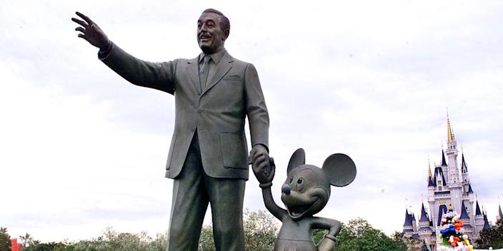 Walt Disney and Mickey Mouse did not sign tax checks for Rhode Islanders.