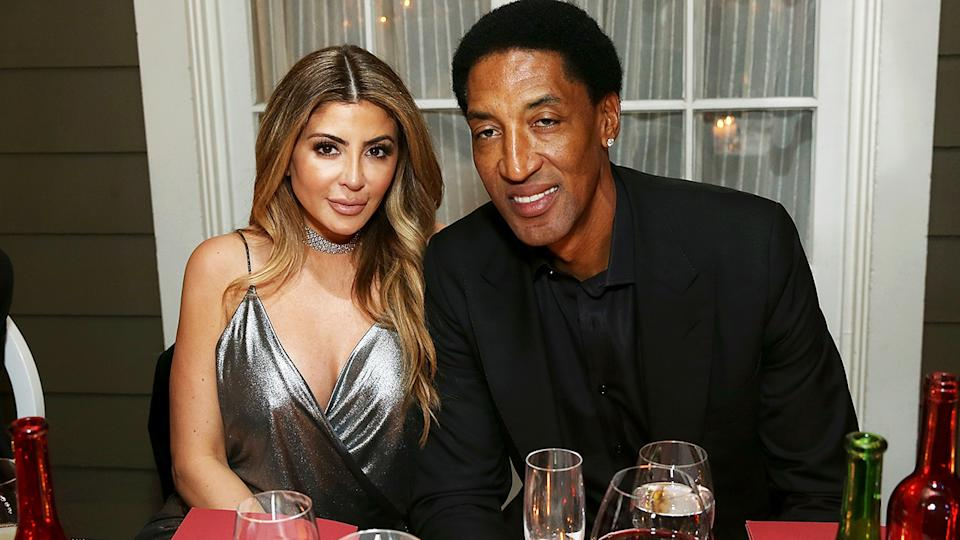 Larsa and Scottie Pippen, pictured here in 2018.