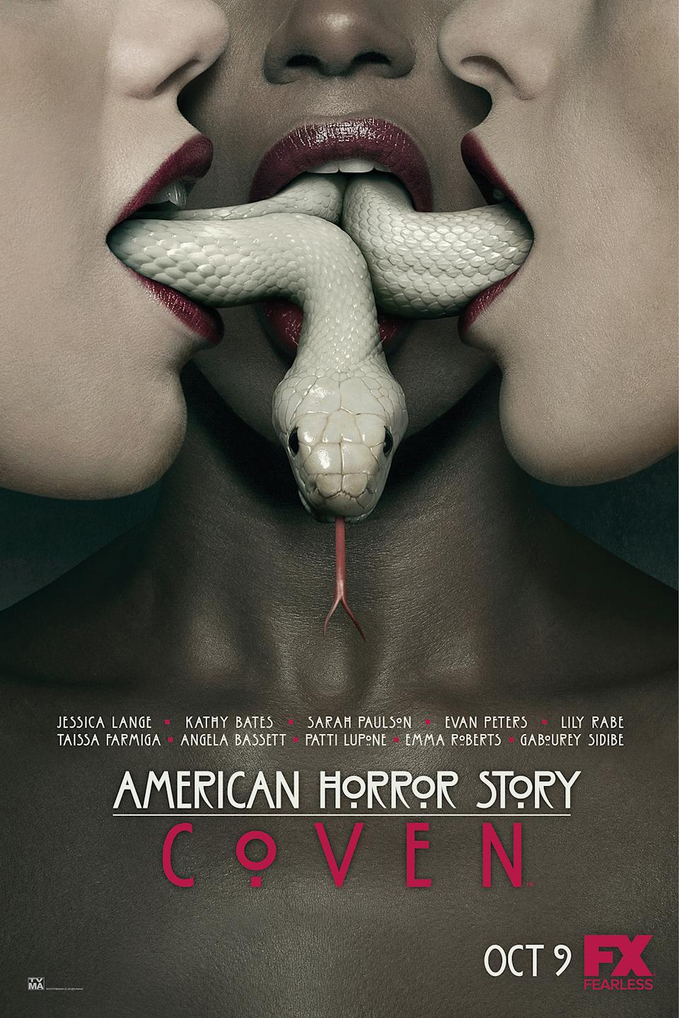 Details about  /New Art Print of 2013 Season 3-Coven Promo Poster American Horror Story