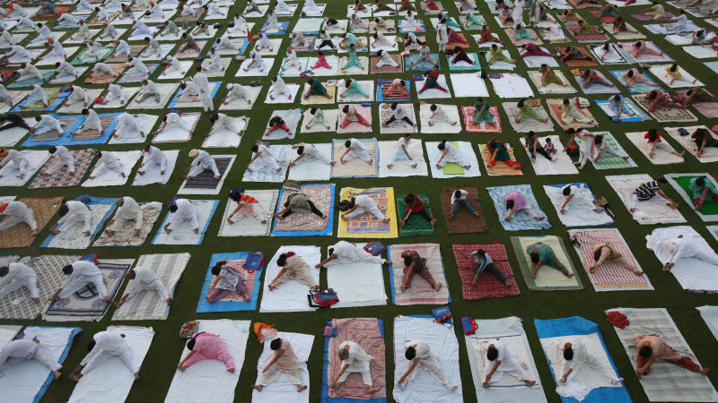 Yoga to Be Made Compulsory in Government Schools in UP