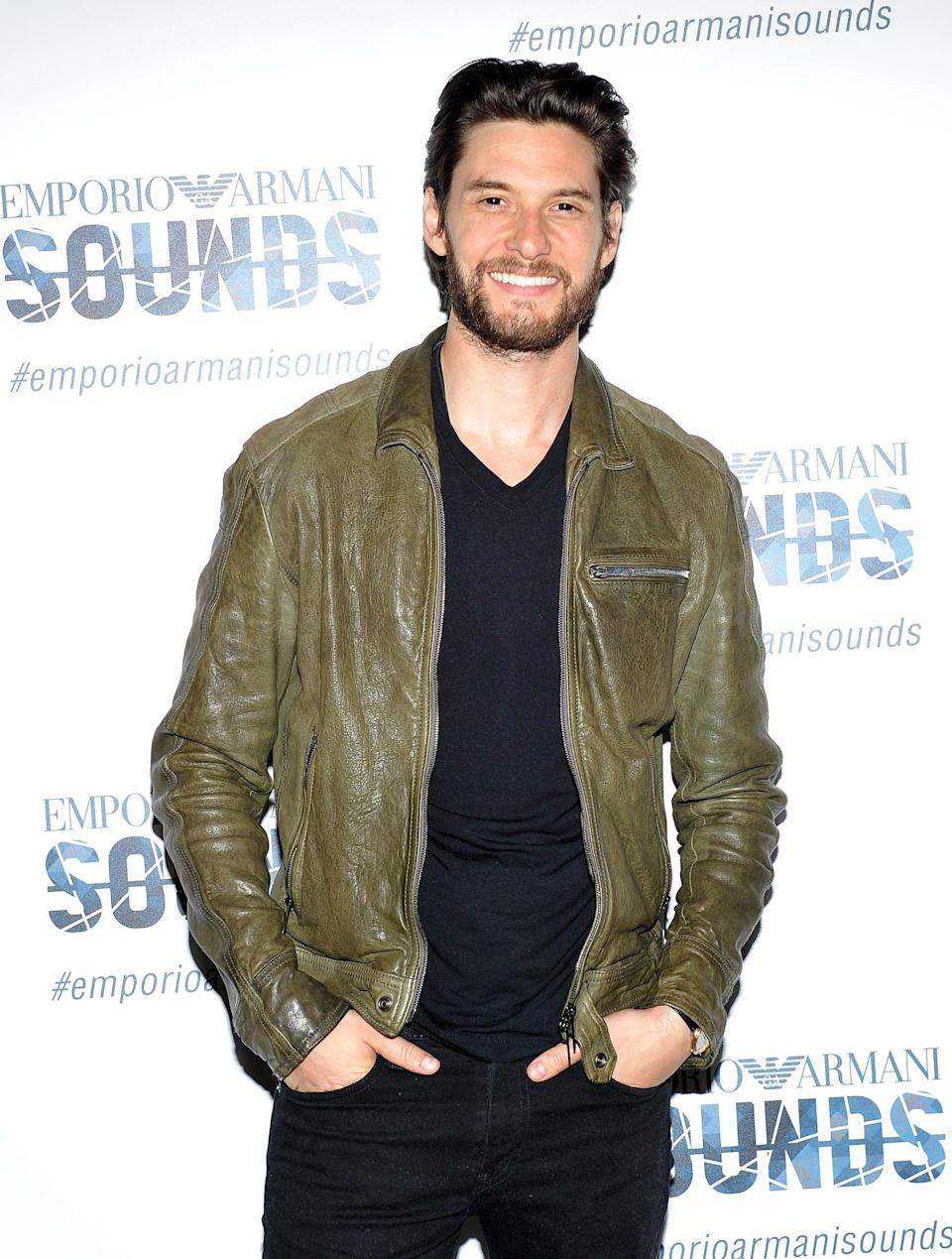 <p>There's just something about a man in a leather jacket.</p>