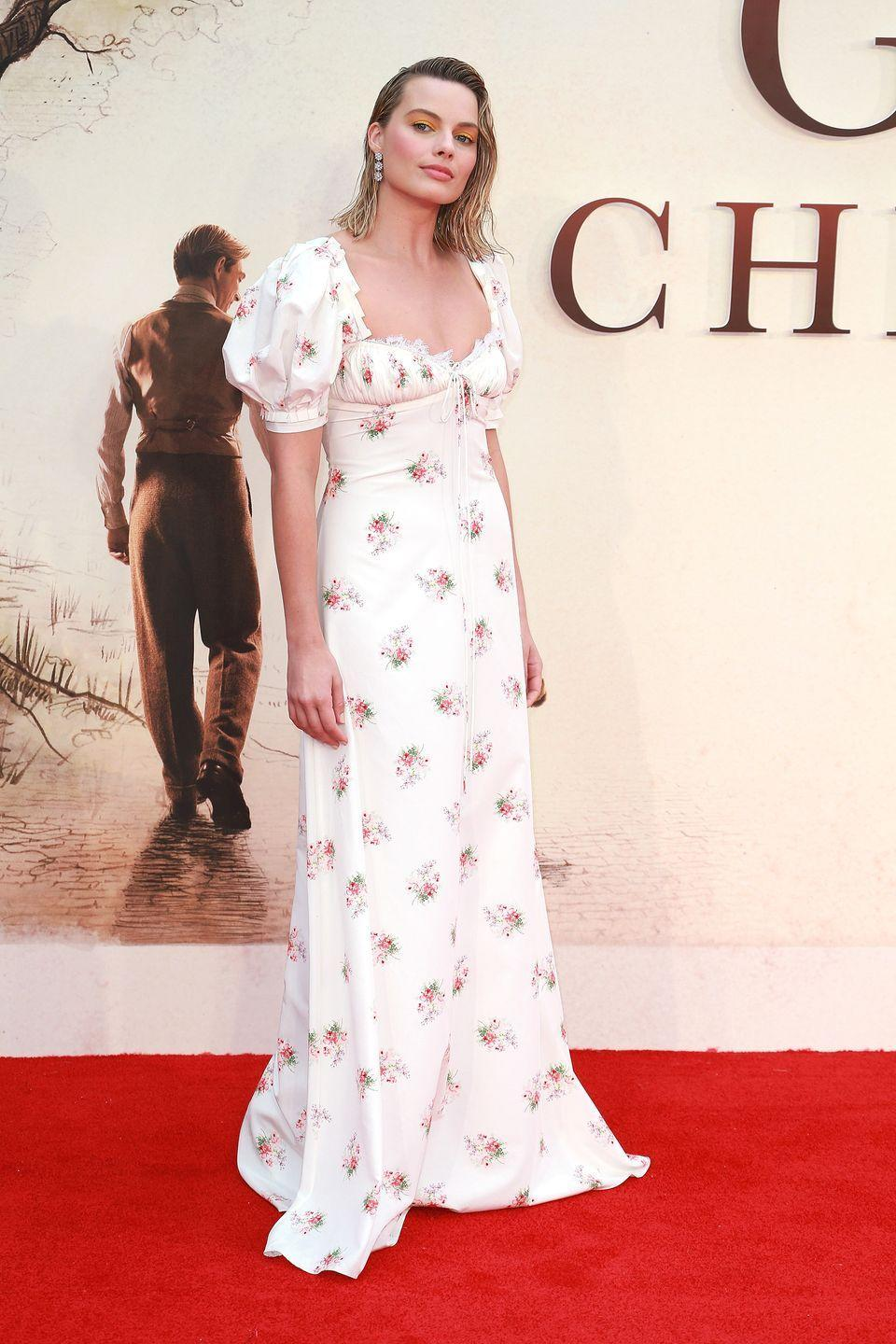 <p>At the 'Goodbye Christopher Robin' premiere in London, September 2017.</p>