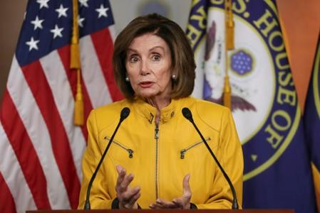 Pelosi rules out censuring Trump if U.S. House doesn't impeach him