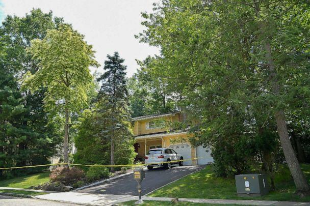 PHOTO: NORTH BRUNSWICK, NEW JERSEY - JULY 20: A view of the home of U.S. District Judge Esther Salas. on July 20, 2020 in North Brunswick, New Jersey. (Michael Loccisano/Getty Images)
