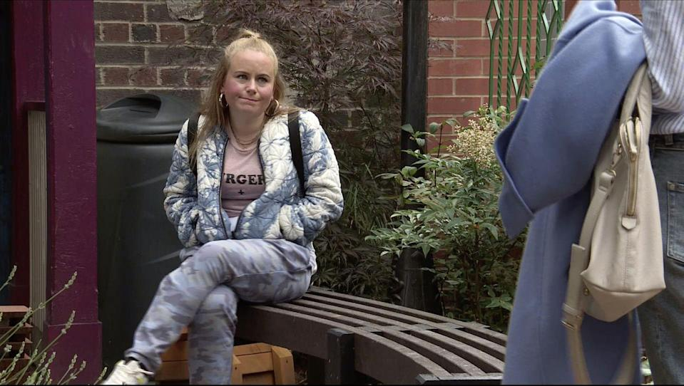 <p>Bernie has been trying to sabotage Gemma's friendship with Vanessa.</p>