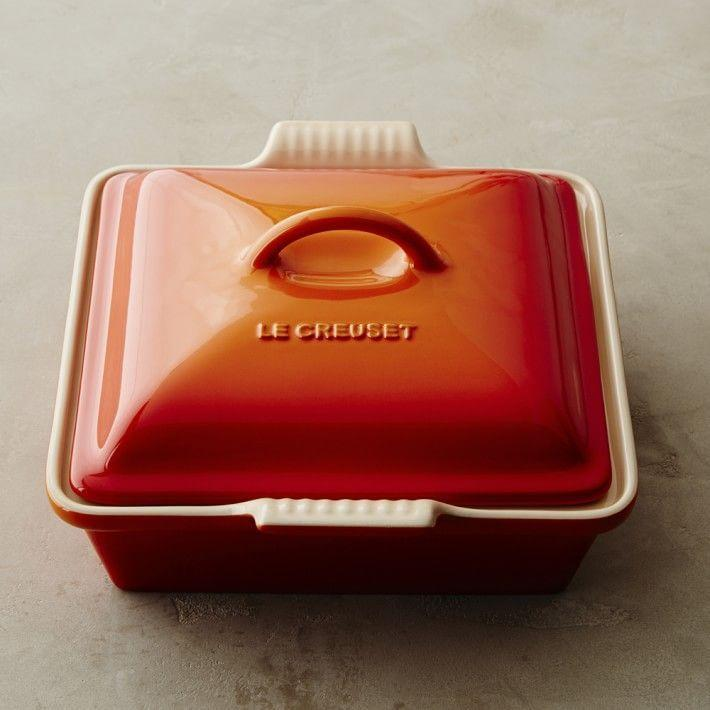 """<p><strong>Le Creuset </strong></p><p>williams-sonoma.com</p><p><strong>$60.00</strong></p><p><a href=""""https://go.redirectingat.com?id=74968X1596630&url=https%3A%2F%2Fwww.williams-sonoma.com%2Fproducts%2Fle-creuset-stoneware-shallow-square-covered-baker_3&sref=https%3A%2F%2Fwww.goodhousekeeping.com%2Fhome%2Fdecorating-ideas%2Fg37159808%2Fbest-home-products-july-2021%2F"""" rel=""""nofollow noopener"""" target=""""_blank"""" data-ylk=""""slk:Shop Now"""" class=""""link rapid-noclick-resp"""">Shop Now</a></p><p>Le Creuset's shallow baking pan can do it all. Use it to make tasty desserts, easy <a href=""""https://www.goodhousekeeping.com/food-recipes/a30260999/french-onion-chicken-casserole-recipe/"""" rel=""""nofollow noopener"""" target=""""_blank"""" data-ylk=""""slk:casserole"""" class=""""link rapid-noclick-resp"""">casserole</a> dishes... you name it!</p>"""