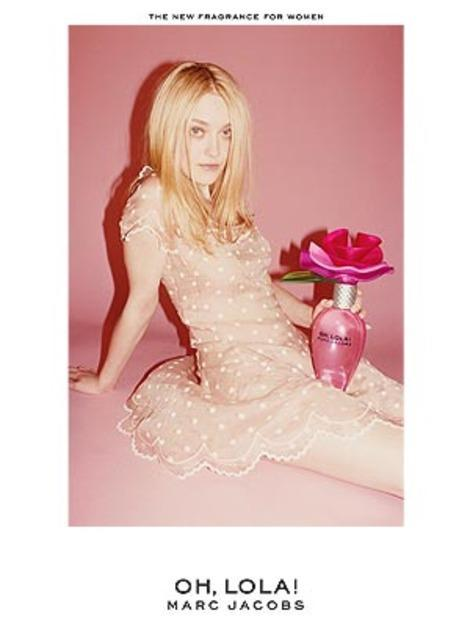 Marc Jacobs' ad featuring Dakota Fanning is banned in the UK.