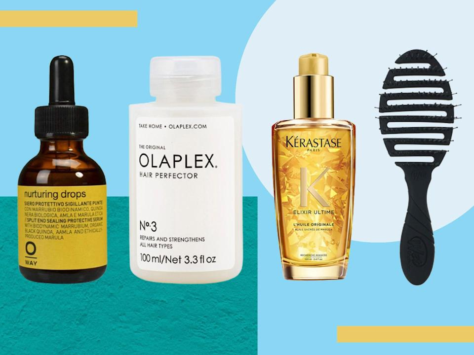 From masks to oils, brushes to hair ties, these are our top-rated tools and treatments (iStock/The Independent)