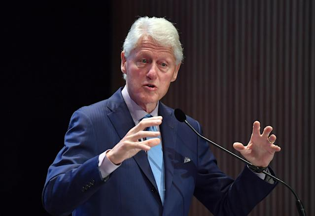 Bill Clinton's comments have sparked controversy. (Photo: Angela Weiss/AFP/Getty Images)