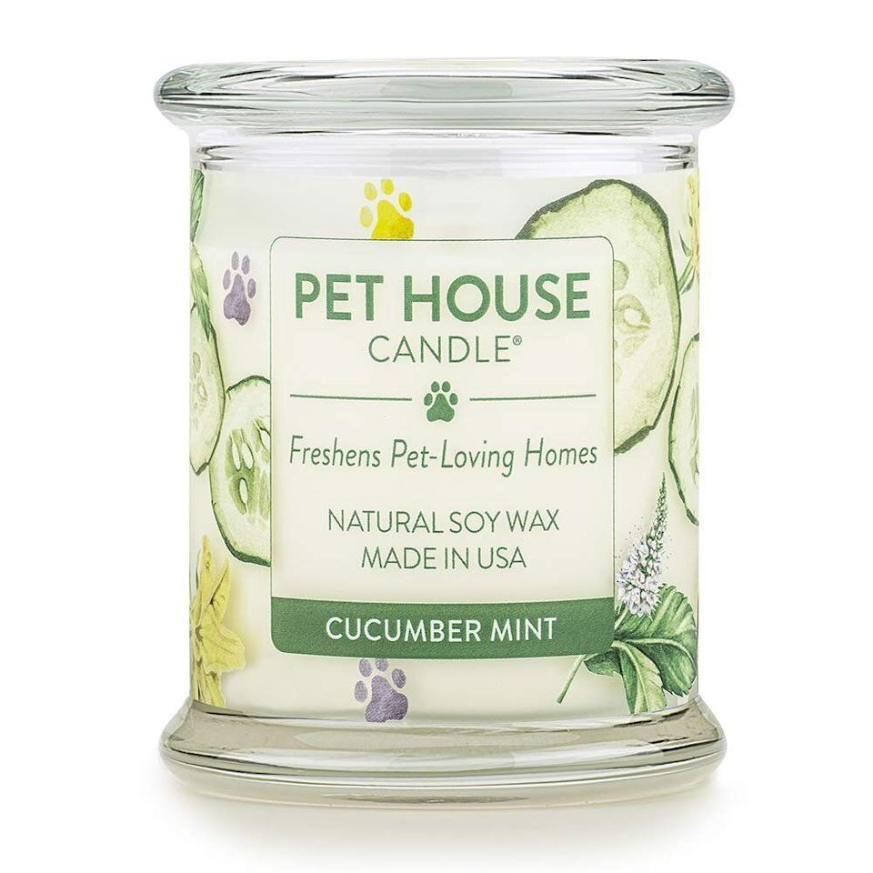 This long-lasting, odor-eliminating candle is a fan favorite among Amazon users. (Photo: Amazon)