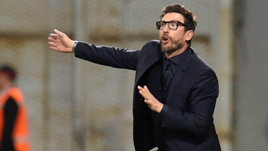 AS Roma have confirmed that manager Eusebio Di Francesco has signed a contract extension which should see him remain with the club until 2020. The 48-year-old led Roma to a third-place finish in Italy's top flight last season, a campaign which produced some incredible moments in the Champions League - particularly against Barcelona - who they reversed a huge deficit against to progress to the semis.  OFFICIAL ✍️ Coach Eusebio Di Francesco has signed a new contract with #ASRoma until 2020! ...