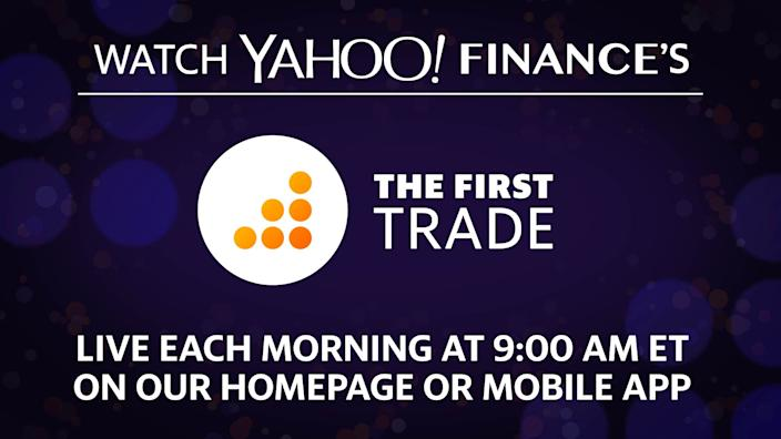 Yahoo Finance's live morning show.