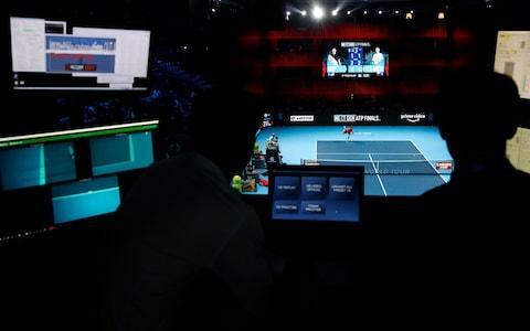 <span>A form of VAR is being used at the event</span> <span>Credit: Getty Images </span>