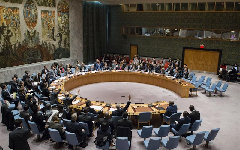 The UN Security Council - Credit: AFP