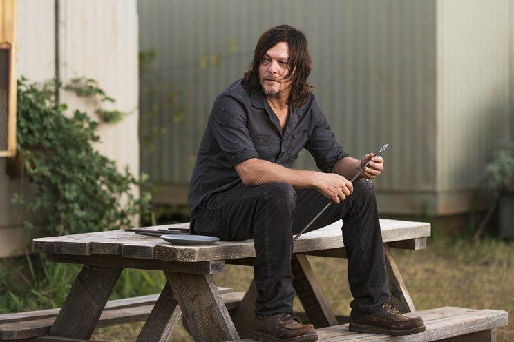 Norman Reedus as Daryl Dixon in AMC's 'The Walking Dead' (Credit: Gene Page/AMC)