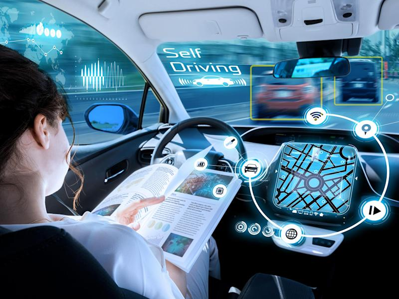 The UK government has promised driverless cars on the road by 2021: Shutterstock