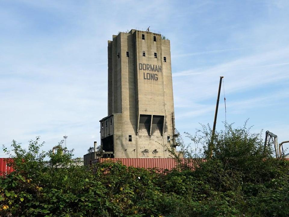 Dorman Long tower at the former Redcar SSI steelworks (Getty Images)