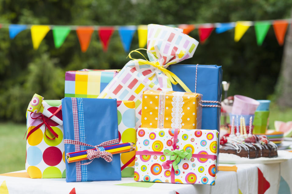Could fiver parties spell the end of birthday presents? [Photo: Getty]
