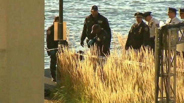 PHOTO: The bodies of two women were found washed up from the Hudson River off the Upper West Side in New York, Oct. 24, 2018.  (WABC)