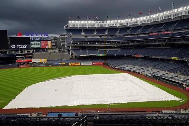 As Paxton experiences setback, Yankees, O's rained out
