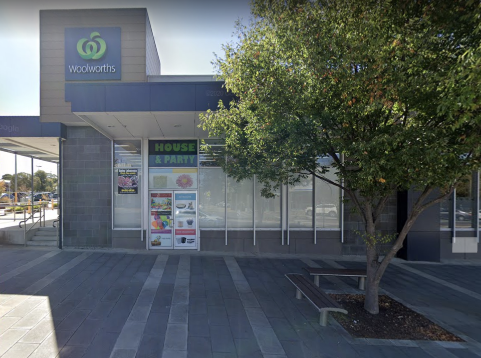 Woolworths at Epping North is pictured.
