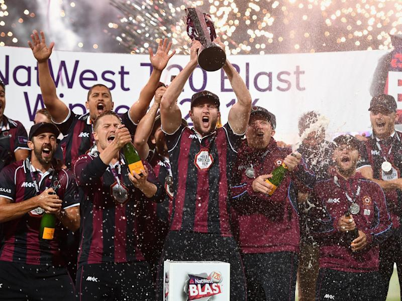 Northamptonshire Steelbacks won last year's Natwest T20 Blast: Getty