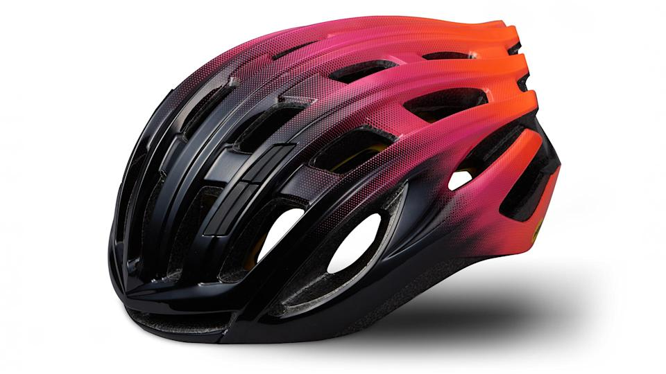 Specialized Propero III with angi budget cycling helmet