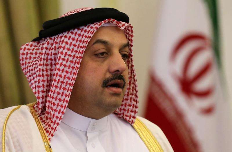 """Qatar's Foreign Minister Khalid al-Attiyah said failure to make progress in the Israeli-Palestinian peace process was """"the main igniter to all the turbulence in the Middle East"""""""