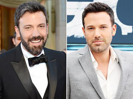Ben Affleck guapo con o sin barba via Us Weekly