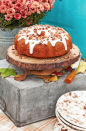 """<p>It took you a long time to make that <a href=""""https://www.countryliving.com/food-drinks/g1384/thanksgiving-desserts/"""" rel=""""nofollow noopener"""" target=""""_blank"""" data-ylk=""""slk:Thanksgiving dessert"""" class=""""link rapid-noclick-resp"""">Thanksgiving dessert</a>, so you might as well give it the showcase it deserves! Fair warning: These effortlessly chic wooden cake stands might just upstage the edible stuff on your dessert table—unless you use our <a href=""""https://www.countryliving.com/food-drinks/a24404532/pecan-pumpkin-bundt-cake-cream-cheese-glaze-recipe/"""" rel=""""nofollow noopener"""" target=""""_blank"""" data-ylk=""""slk:pecan-pumpkin bundt cake recipe"""" class=""""link rapid-noclick-resp"""">pecan-pumpkin bundt cake recipe</a>, that is.</p><p><strong><a class=""""link rapid-noclick-resp"""" href=""""https://www.amazon.com/Natural-Basswood-8inches-Weathered-Centerpiece/dp/B07HQBPBSM?tag=syn-yahoo-20&ascsubtag=%5Bartid%7C10050.g.1371%5Bsrc%7Cyahoo-us"""" rel=""""nofollow noopener"""" target=""""_blank"""" data-ylk=""""slk:SHOP NATURAL WOOD SLICES"""">SHOP NATURAL WOOD SLICES</a></strong></p>"""