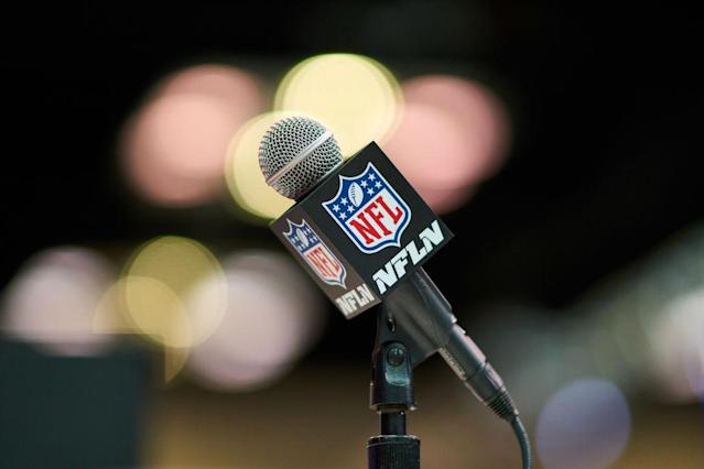The NFL Network faces two lawsuits involving on-air talent. (Getty)