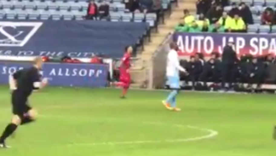 Footage of Coventry striker Yakubu walking around doing nothing during a match against Swindon Town for over two minutes surfaced on the weekend, leading many to brand the Nigerian lazy. Without the apposite data, one can't be blamed for assuming that the player was just having a grand time doing zilch, as the match official appeared to have burnt way more calories during the period. Check it out below:  This is brilliant! Yakubu literally doing nothing for 2:20 minutes for Coventry today....