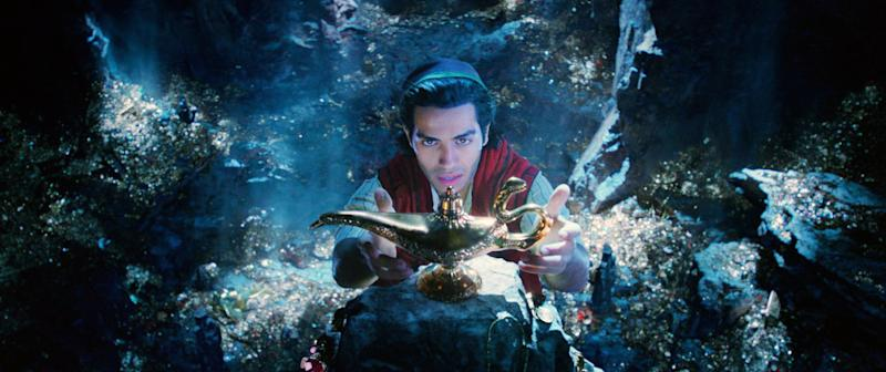 Aladdin goes treasure hunting in the Cave of Wonders (Photo: Walt Disney Studios Motion Pictures / courtesy Everett Collection)