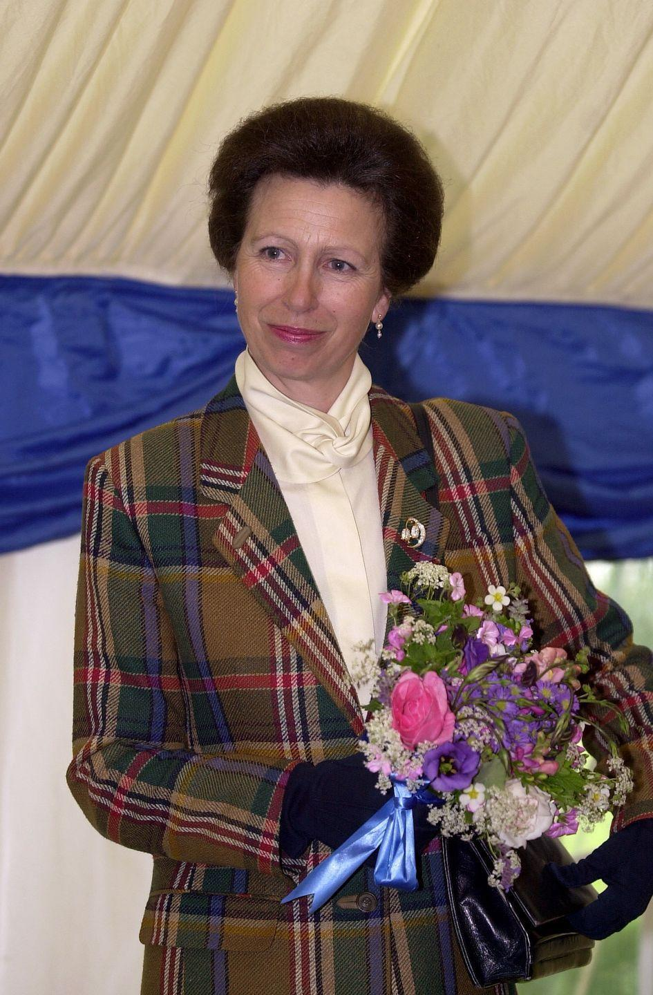 """<p>Why not try a plaid blazer, like the <a href=""""https://www.townandcountrymag.com/society/tradition/a13075050/princess-anne-queen-elizabeth-daughter-facts/"""" rel=""""nofollow noopener"""" target=""""_blank"""" data-ylk=""""slk:Queen's only daughter Princess Anne"""" class=""""link rapid-noclick-resp"""">Queen's only daughter Princess Anne</a> did back in 2000? </p>"""