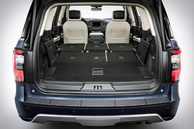 Ford Expedition 2018 trunk view