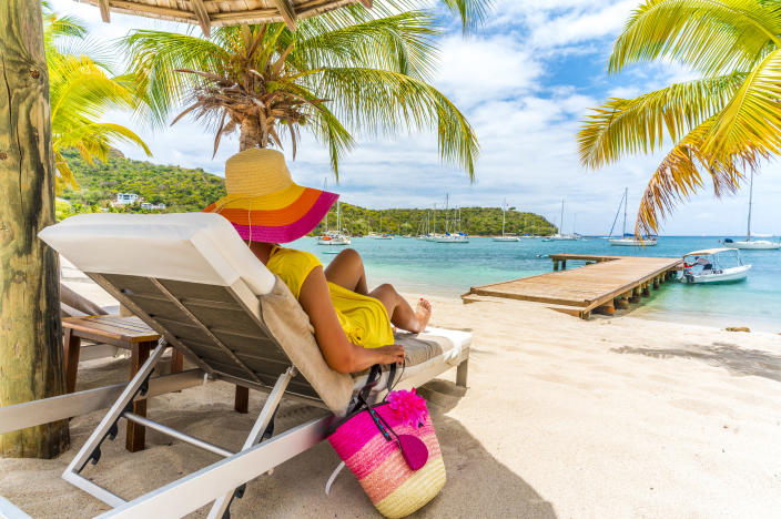 Barbados is considering allowing visitors to stay for up to 12 months. (Photo: Getty)