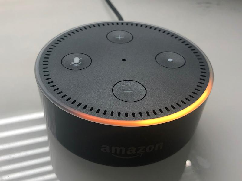 amazon echo being set up